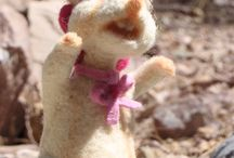 Let's play with needle felted. / Toys made from natural raw materials, wool, felt, cotton, respectful child development
