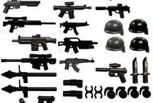 Оружие лего
