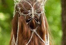 na włosy biżuteria
