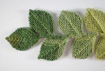 Flowers - Knitting