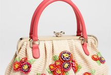 Crocheted bag/handbag/purse