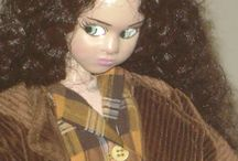 Κούκλες ύψους 90 εκ. / Dolls 90 cm. of height / Χειροποίητες κούκλες από τη Λία Μουχτάρη / Handmade dolls by Lia Mouchtari
