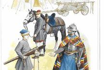 Inspiracje 1576-1599 / Pakiet fajnych obrazków ilustrujących jednostki RoN pod koniec XVI wieku.