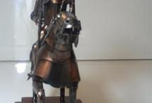 sculptures / Don Quixote sculpture bronze metal sculpture