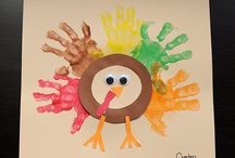 Thankful for Thanksgiving / Turkeys, the stuffed and the paper kind, are all over the place this time of year.  Thanksgiving crafts, recipes and decor. / by MamaMommyMom