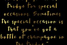 Champagne addict