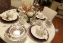 My Holiday Tablescapes