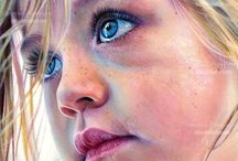 watercolor portrait / by LILI
