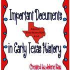 4th Grade Texas history