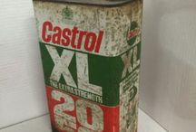 VINTAGE MOTOR OIL CANS - 1 GALLON / Visit our website to see our full range of automobilia. Stock changes regularly, so check back for new products: http://mattsautomobilia.co.uk/new