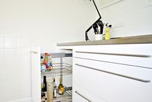 STORAGE PULL OUT SYSTEMS - KITCHEN IDEAS / Fed up with having to crawl in the back of the cupboard to find what you need? Pull out units and systems are a great way to bring the cabinet out to you!