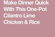 One pot dish