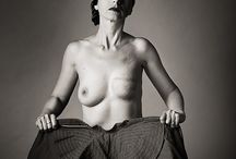 Mastectomi - mastectomizada / Fotografías de mujer mastectomizada por el cáncer de mama - Calendario benéfico