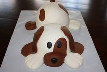 Lottie st birthday cake