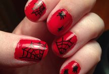Halloween Nails  / by Lindsey Benage