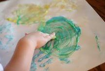 Kid Crafts & Activities (Preschool) / by Brandee Sims