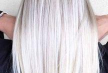Couleur de cheveux Blanc polaire