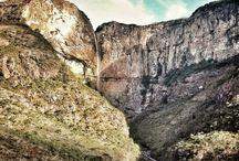 Cachoeiras / Fotos tiradas de cachoeiras pela equipe Vara Mato