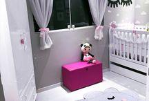 Baby Girl Bedroom/Nursery Ideas