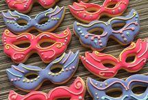 Cookie art masks
