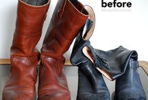 Boots / Cleaning and care