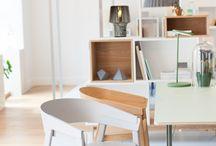 Esszimmer | diningn room / Alle an einem Tisch, gemeinsam essen und spielen: Einrichtungsideen für das Esszimmer