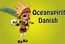 Oceanspirit Danish / The Shakespearean parody game by Crystal Shard.