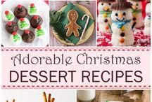 Holiday desserts
