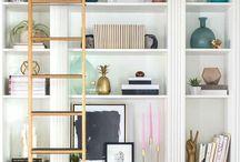 Home // shelves & styling