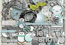{Collecting Moments:December} Digital Scrapbook Kit by Pixelily Designs