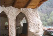 cob style and alternative homes / by Marnie Loken