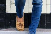 Crocet / Moccasin slippers
