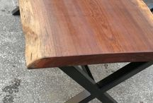 wooden naturel table