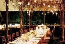 {Wedding Ceremony + Reception Decor Inspiration}