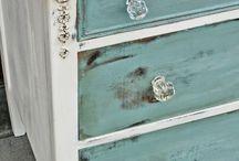 Painting & decoupage idea's