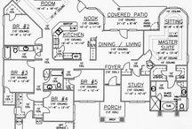 house plans / by Christina Underwood Edwards
