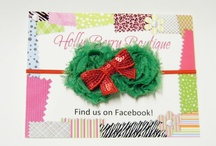 Christmas headband and hair accessories