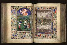 Illuminated Manuscripts / Designs, illustrations, illuminated miniatures