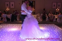 Starlit Dance Floor / Our beautiful LED Starlit Dance Floors bring a focal point to any function room, instantly giving your wedding that fantastic factor