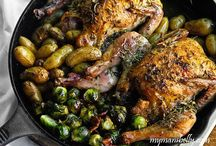 Cast Iron Skillets and cooking / Cleaning tips and receipes / by Janet Rose