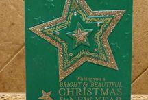Green & Gold Christmas Countdown