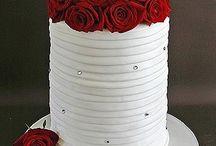 торты с розами