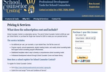 School Counselor Central Site