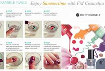 DIY Nail Art with FM / Super tips for great nails at home...why pay siily money whne you can do it your self...