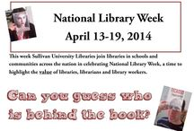 National Library Week 2014 / celebrating libraries and their value