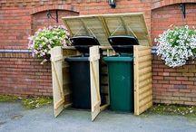 Garden Trash Bin