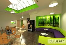 MCSC - Funky Community Project / Café Design, Fit Out and Refurbishment which required a modern and fresh area to encourage its users towards healthy eating and socialising in a modern area.