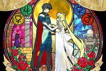 Prince Endymion and Princess Serenity