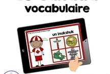 Digital Task Cards in French - Boom Learning / French digital task cards from La classe de Madame Angel!  Great for use with any device!