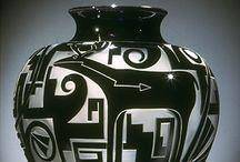 cerâmica  com traços
